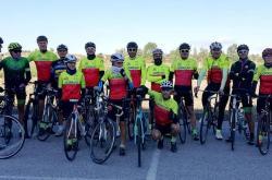 In bici per il Trofeo del sorriso