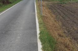 Rottanova, cede il ponte asfaltato da pochi mesi
